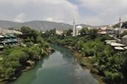 Мостар фото Старый мост и город