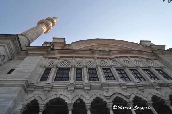 Стамбул. Голуба мечеть. Фасад