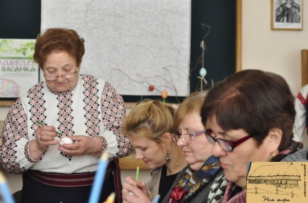 Лемківська писанка майстер-клас Тернопіль 2016