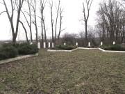 Цвинтар в Пикуличах. Грудень 2016р.